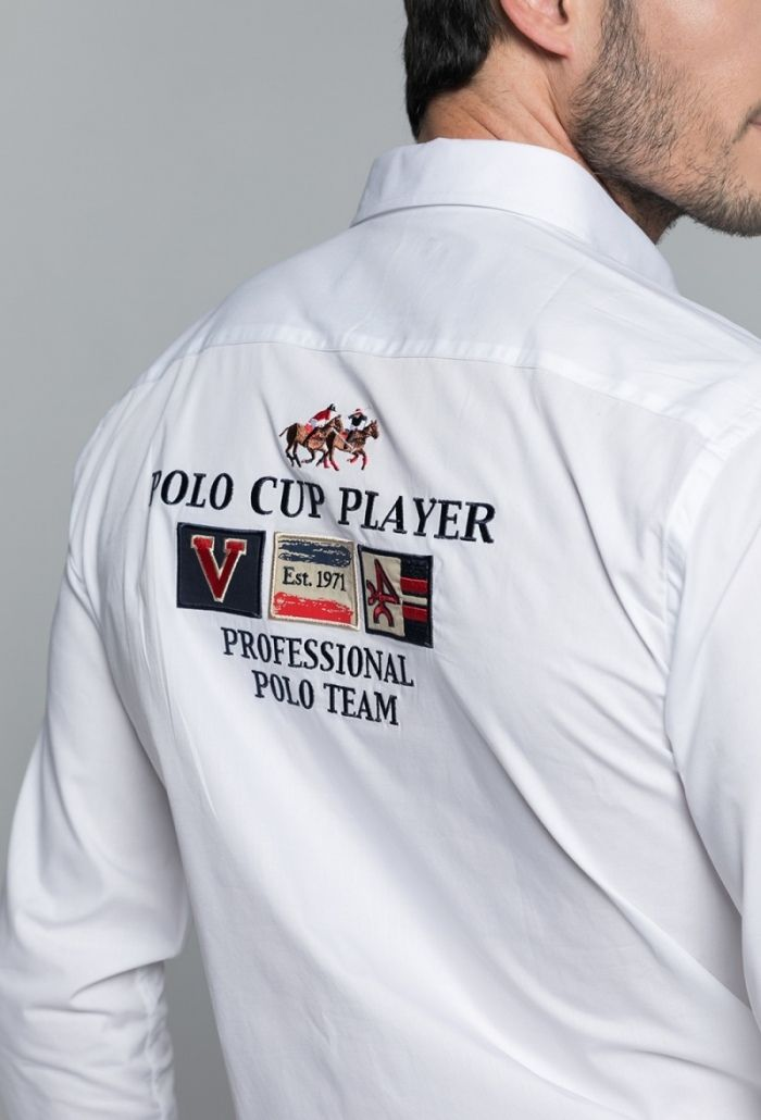 Camisa No Cup Player Blanco